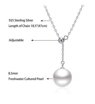 Sterling Freshwater Cultured Pendant Necklace