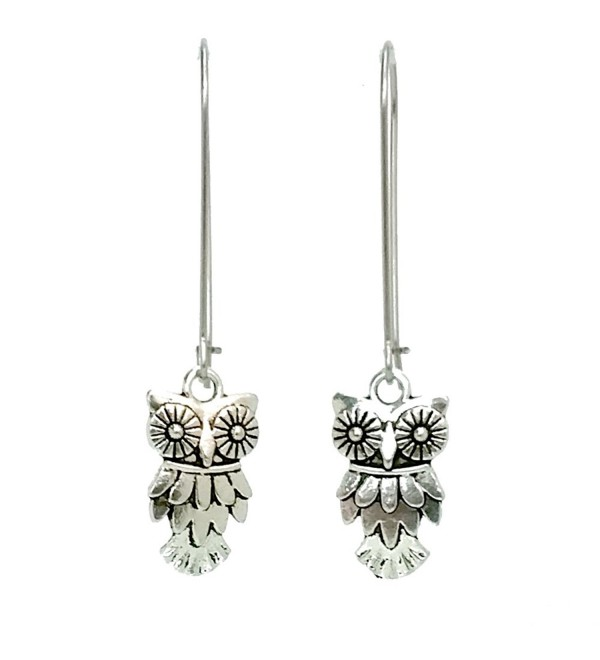 Sabai Silvertone Birds & Friends Charm Earrings on Kidney Earwires - CN1294GPA0B