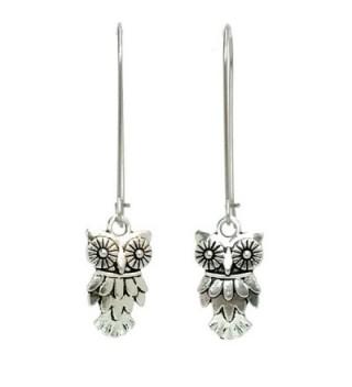 Sabai Silvertone Birds & Friends Charm Earrings on Kidney Earwires - CN1294GPA0B