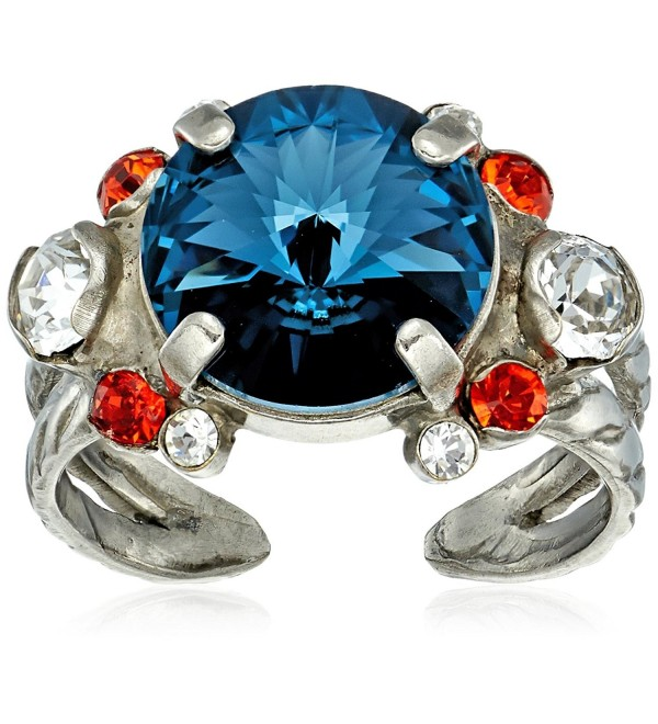 sorrelli battle blue crowning around ring- size 7-9 - CO186KMUDDT