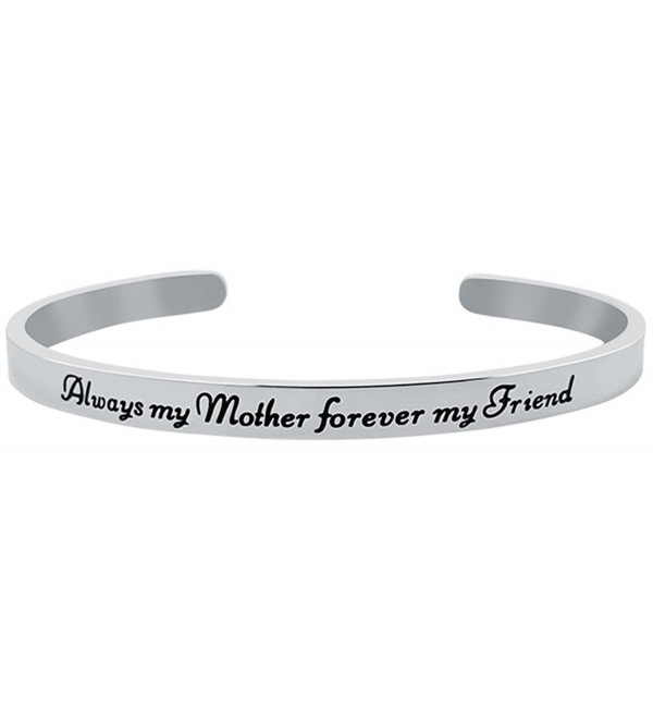 Inspirational Sentimental Positive Bracelet Stainless - Stainless Steel - CM1879M6S84