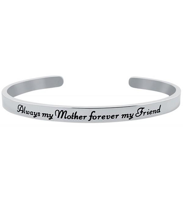Inspirational Sentimental Positive Bracelet Stainless - Stainless Steel - CM1879M6S84