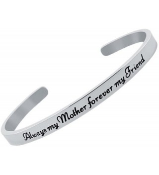 Inspirational Sentimental Positive Bracelet Stainless in Women's Cuff Bracelets