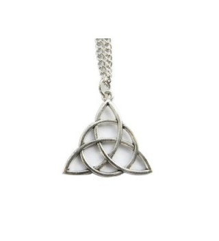 Celtic Knot Triquetra Necklace-celtic Trinity-Celtic Necklace- Trinity Knot Necklace-trinity Symbol - CJ12FP2D68R
