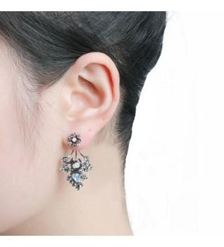 She Lian Rhinestone Earrings Mismatch