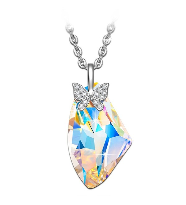 Butterfly Necklace NINASUN Swarovski Girlfriend - Irregular Shaped Crystal - CV17YZXN5H5