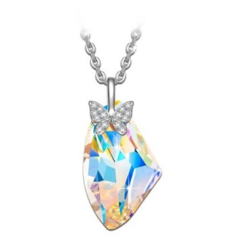 Butterfly Necklace NINASUN Swarovski Girlfriend - Irregular Shaped Crystal - CV17YZXN5H5