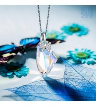 Butterfly Necklace NINASUN Swarovski Girlfriend in Women's Pendants