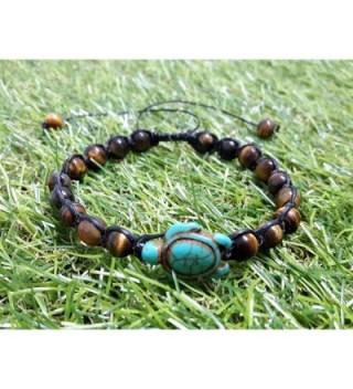Tiger Turtle Turquoise Bracelet Hawaiian in Women's Cuff Bracelets