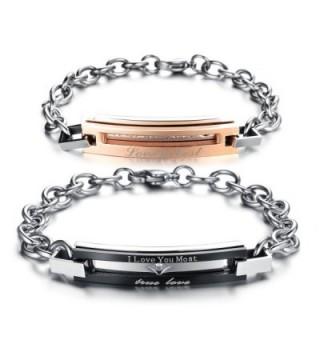 Matching Titanium Stainless Bracelet Anti fatigue - CQ12D6UGM8L