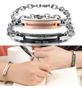 Matching Titanium Stainless Bracelet Anti fatigue in Women's Bangle Bracelets