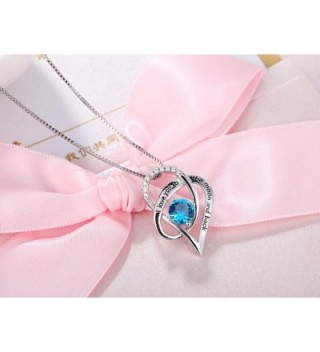 Sterling Silver Heart Pendant Necklace in Women's Pendants