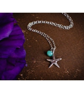 Starfish Beach Ocean Necklace Choose in Women's Chain Necklaces
