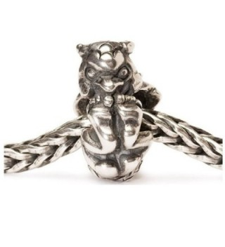 Authentic Trollbeads Sterling Silver 11437 Rolling Troll - CL12LRA2KD7