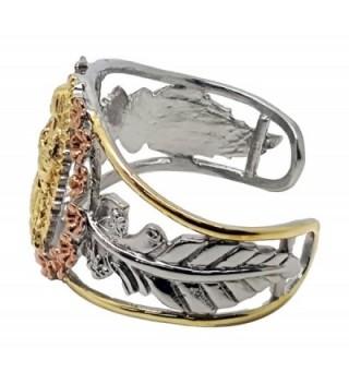Tri tone Guadalupe Virgin Stainless Bracelet