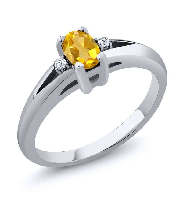 Sterling Citrine Gemstone Birthstone Available - CO116T1G2I5