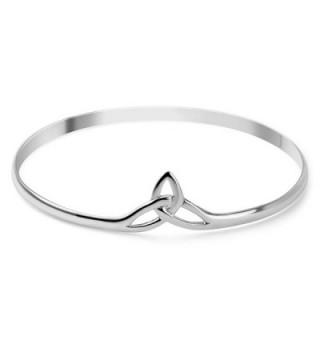 Sterling Triquetra Trinity Triangle Bracelet