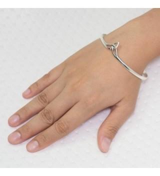 Sterling Triquetra Trinity Triangle Bracelet in Women's Bangle Bracelets