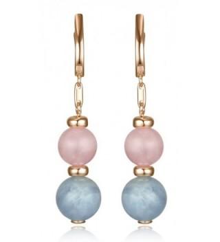 Lanfeny Sterling Earrings Gemstone Aquamarine - CB1825647SK