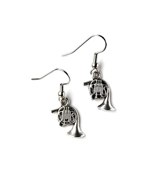 French Horn French Loop Earrings - CF11LYC3PAV