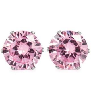 INBLUE Womens Stainless Earrings Flower in Women's Stud Earrings