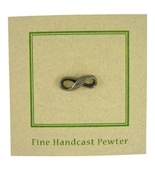 Infinity Lapel Pin 1 Count in Women's Brooches & Pins