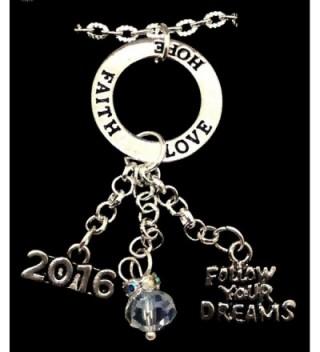 Graduation Follow Dreams Faith Necklace