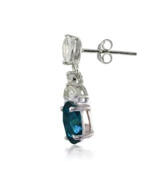 Sterling Silver London Dangle Earrings