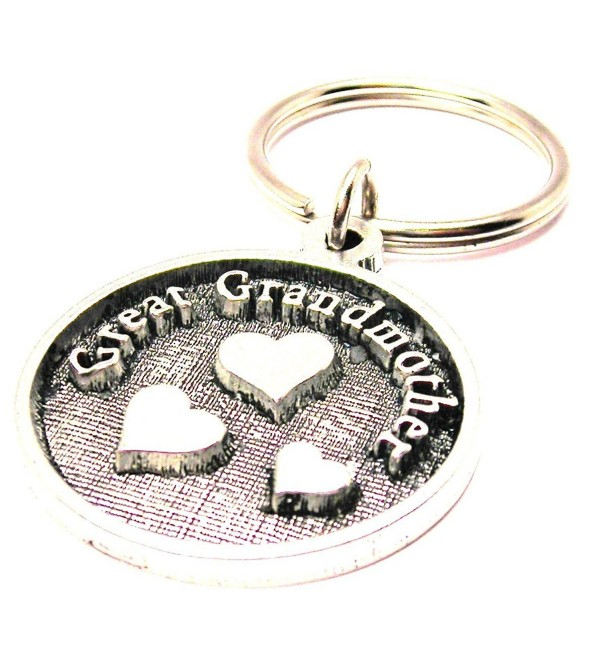 Single Charm Great Grandmother Keychain - C111N1A15Z1