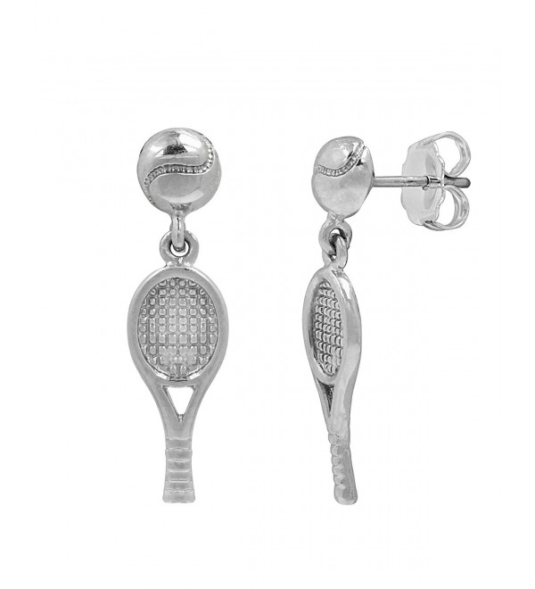 Sterling Silver Tennis Earrings - CV119CMSAL9