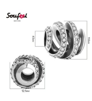 Soufeel Spiral Charms Sterling Amazing