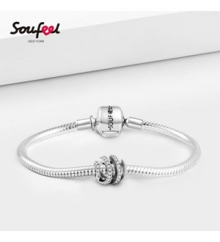 Soufeel Spiral Charms Sterling Amazing in Women's Charms & Charm Bracelets