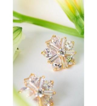 Earrings Crystals Filigree Vintage Earring in Women's Stud Earrings