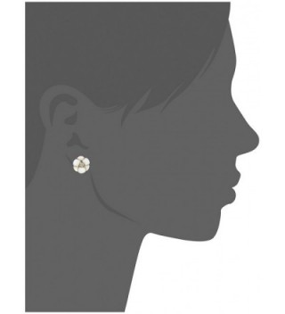 kate spade Flower White Earrings