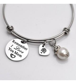Remember Love Bangle Bracelet White
