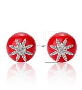 Sterling Silver Double Earring Crystal