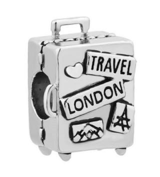 ReisJewelry Love Travel Charms Sydney Hawaii London Rome Pisa Tower Eiffel Tower Charm Bead For Bracelets - CO186YM5NHA