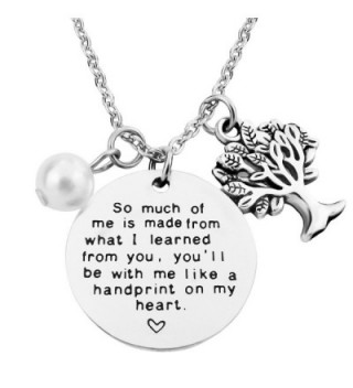 Learned Teacher Necklace Mothers Mentor - CJ189Y8X9GE