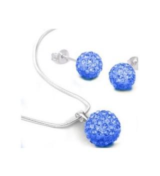 Shally Women's Jewelry Set Austrian Crystal Necklace- Bracelets- Earrings Ensemble Fashion Jewelry - CZ187I2757H