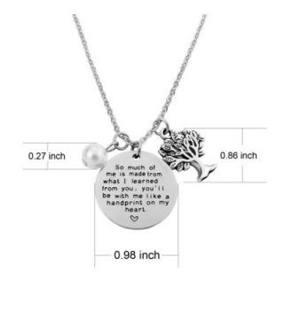 Learned Teacher Necklace Mothers Mentor