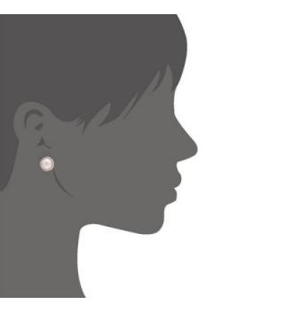 Colored Handmade Holder Rhodium Earrings