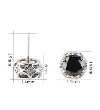 Jardme Crystal earring Zircon Earring in Women's Stud Earrings
