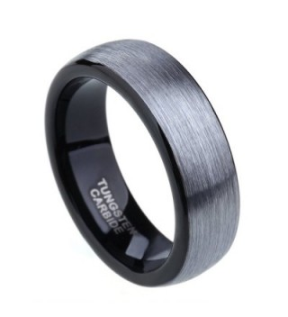 Tungsten Carbide Brushed Polished Engagement