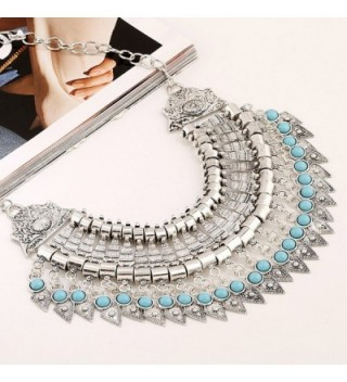 MuLuo Festival Turkish Statement Necklace in Women's Chain Necklaces