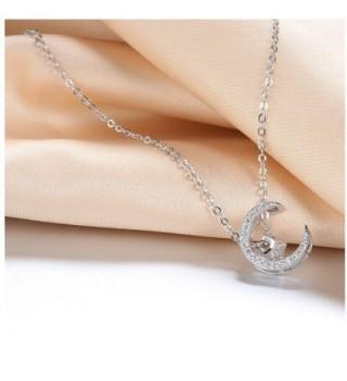 Wristchie Jewelry Sterling Zirconia Necklace in Women's Pendants