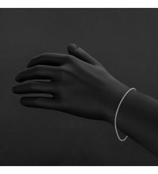 Authentic Sterling Italian Military Bracelet in Women's Link Bracelets