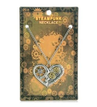 Jiayiqi Antique Necklace Heart Shaped