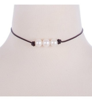 Areke Cultured Freshwater Choker Necklaces