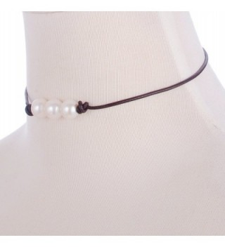 Areke Cultured Freshwater Choker Necklaces in Women's Choker Necklaces