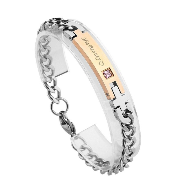 JOVIVI Valentines Day Gifts Stainless - Womens(His Beauty) - C4182K0UK2R